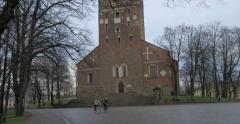 Turku Cathedral Stock Footage