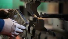 Mechanical brake Stock Footage