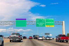 Houston katy freeway fwy in texas usa Kuvituskuvat