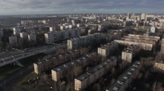 Stock Video Footage of Aerial View оf Saint Petersburg, Shot in HD resolution