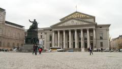 Bavarian State Opera Stock Footage