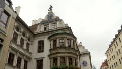 Hofbrauhaus Brewery and Beer Wagon on Munich Streets Stock Footage