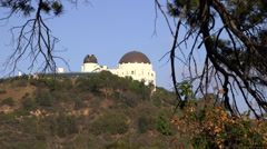 Griffith Park Observatory, Los Angeles Stock Footage