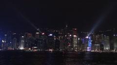 Festival light in Hong Kong 2013-Dan Stock Footage