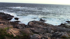 2455 Ocean Waves Hitting Rocks in South Africa, HD Stock Footage