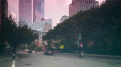 New york city greenwich street 4k time lapse Stock Footage