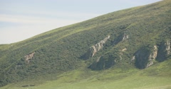 4k majestic top plateau of the mountain,QingHai,China. Stock Footage