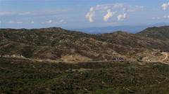 Panorama Aegean coast. Stock Footage