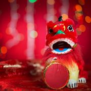 Chinese new year festival decorations Stock Photos