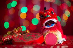 Stock Photo of chinese new year festival deco