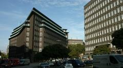 Chilehaus, Hamburg, frontal view Stock Footage