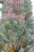 Money tree buddhist Stock Photos