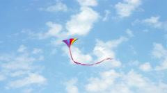 Kite In The Air - stock footage