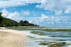 Stock Photo of captivating coastline at anse union, seychelles