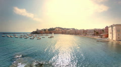 Sestri Levante Porto Bello Late Afternoon - 25FPS PAL Stock Footage