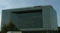 Spiegel company head quarters, Hamburg Stock Footage