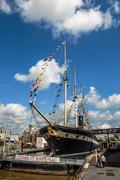 Ss great britain - historic steamship Stock Photos