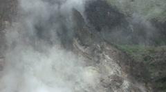 Hot springs in Taiwan Seven Star Mountain- Yang Ming Shan National Park-Dan Stock Footage