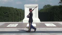Tomb of the Unknown Soldier - stock footage