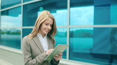 Business Technology Stock Footage