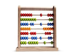 Stock Illustration of abacus isolated with clipping path.