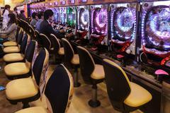 Traditional pachiko gambling in japan Kuvituskuvat