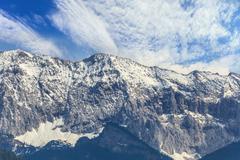 europe alpine alps mountain - stock photo