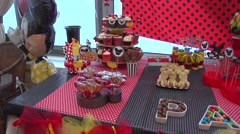 Theme party Stock Footage
