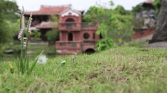 Taipei, Lin An Tai Historical House & Museum, Chinese House in Taiwan-Dan Stock Footage