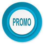 promo icon. - stock illustration