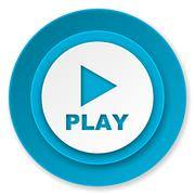 play icon. - stock illustration