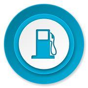 Petrol icon, gas station sign. Stock Illustration