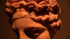 Statue of God Dionisio Stock Footage