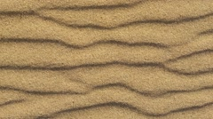 Geology - Sand ripples Stock Footage