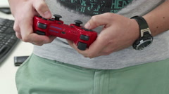 Joystick consoles Stock Footage