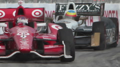 651 2267 Toyota Grand Prix of Long Beach IndyCar Race 2 - stock footage