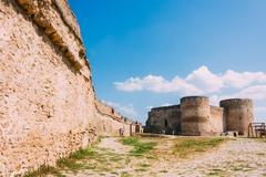 Ukraine, odessa region. belgorod-dniester fortress , akkerman fortress - a mo Stock Photos