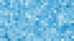 Blue geometric background animation Stock Footage