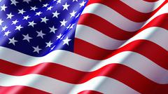 Stock Illustration of american flag