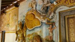 Temple at the bottom of the Pidurangala rock in Sri Lanka Stock Footage