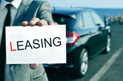 Car leasing Stock Photos