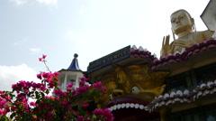 Golden Temple of Dambulla, Sri Lanka - stock footage