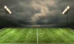 Stadium football Kuvituskuvat