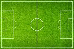 Green football stadium field Stock Illustration