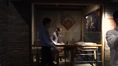 Shenzhen folk custom Exhibition Stock Footage