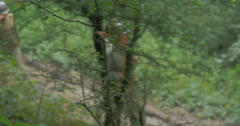 American soldier patrol 11 Stock Footage