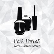 Stock Illustration of cosmetics  design over white background vector illustration