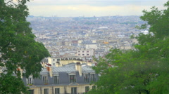 View on Paris, France - stock footage
