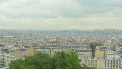 View on Paris, France, 4k, UHD - stock footage