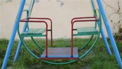 swing swinging - stock footage